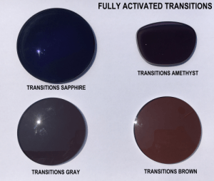 Fully activated Transitions Colors