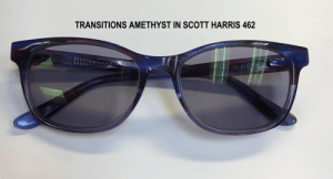 Scott Harris SH462 with Transitions Amethyst
