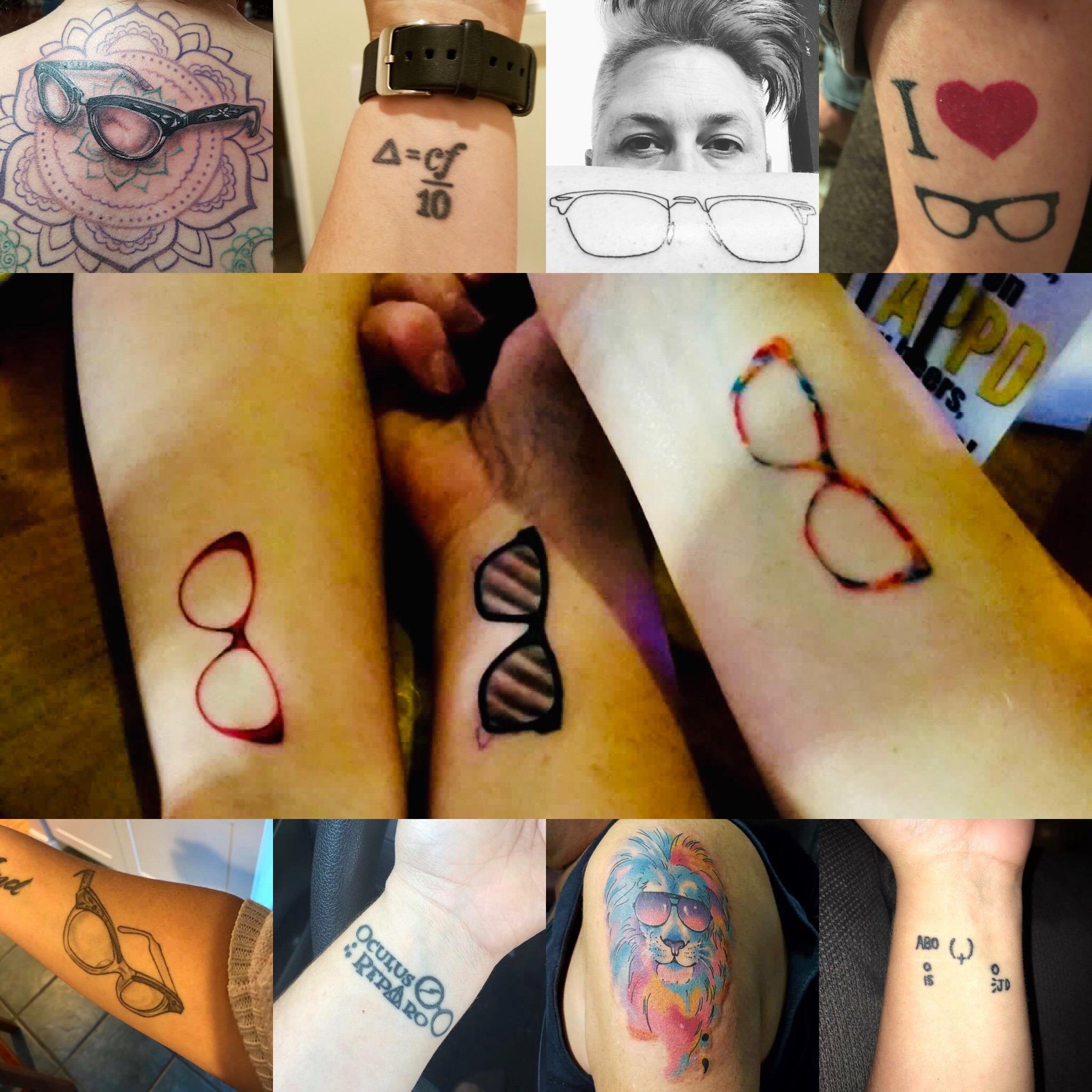 Optician and Optical Tattoos