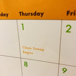 Clean sweep glasses inventory