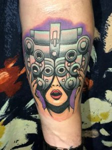 phoropter tattoo