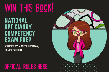 National Opticianry Competency Exam Prep Book Contest