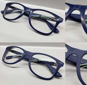 matte finish on glasses