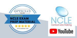 NCLE contact lens training youtube channel
