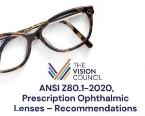 new ophthalmic ansi tolerances