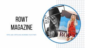 ROWT Magazine feature on Optician Now